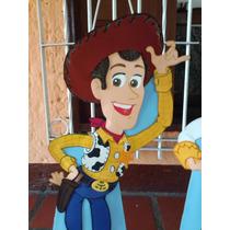 Toy Story Woody Jessie Buzz Figuras Foami Para Decorar 80cm