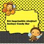 Kit Imprimible Abejitas Cumpleaños Fiesta Torta Niños Niñas