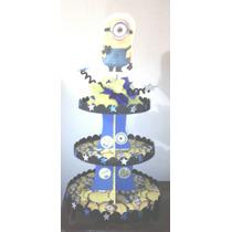 Base Para Ponquesitos Cupcakes Decorado Fiestas Minnions