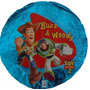 Globos Metalizados Toy Story Buzz Y Woody 18 Pulg