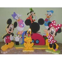 Figuras En Anime Decoracion De Mickey Minnie Leer Bien