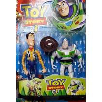Woody Y Buzz Lightyear Toy Story 3 Articulado