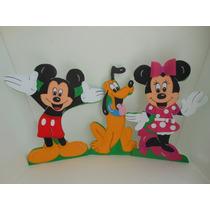 Hermosas Figuras Minie,mickey Sus Amigos De 50 Cms