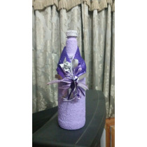 Botellas Decoradas Para Eventos