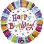 Globos Metalizados Happy Birthday Grandes (46cm)