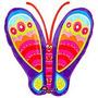 Globo Metalizado Mariposa Multicolor Gigante