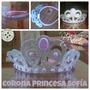 Coronas De Foami. Frozen, Princesa Sofía, Descendientes