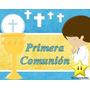 Kit Imprimible Primera Comunion Nene Diseñá Tarjetas Y Mas