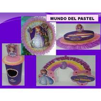 Combo Para Fiestas Infantiles Peppa Sofia Princesa Rapunsel