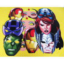 Mascaras/avengers/vengadores/figuras/cumpleaños