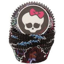 Capacillos Para Ponquesitos (cupcake) Monster High X50
