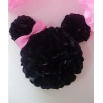 Pompones De Papel De Seda 20cts Mickey , Minnie
