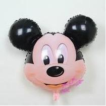 Globos Metalizados Cabeza Gigante De Minnie Y Mickey- 70cm
