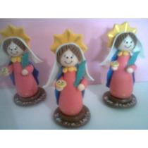 Virgen De Santa Lucia En Masa Flexible