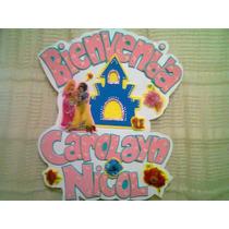 Nombre En Foami Princesas Disney