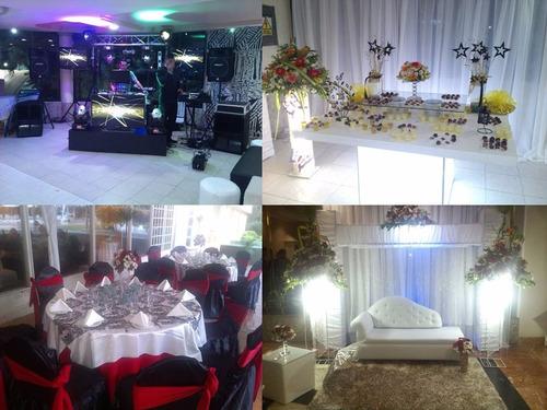 decoraciones anmar.boda,15 años,puffs,sonido,iluminacion