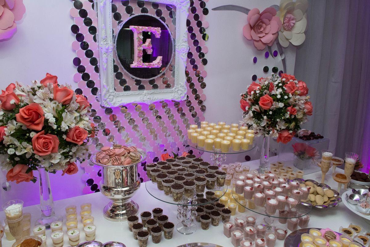 Decoraciones bodas 15 a os comuniones bautizos candy for Decoracion de pared para quince anos