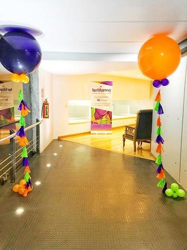 decoraciones con globos, helio y mas