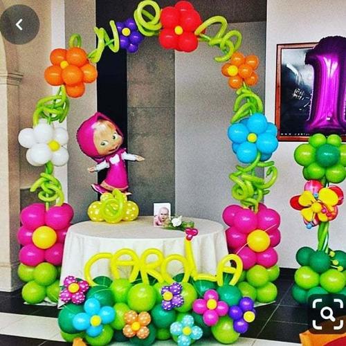 decoraciones de fiesta en globos
