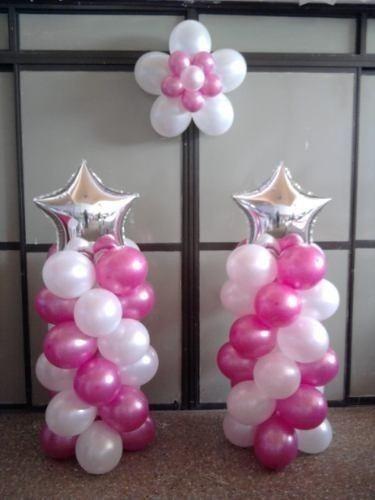 decoraciones de globos sencillas