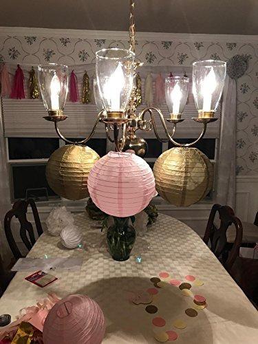 decoraciones de la fiesta de bienvenida al bebé furuix 12pc