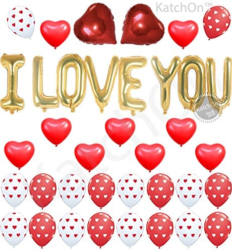 Decoraciones De San Valentn I Love You Kit De Globos