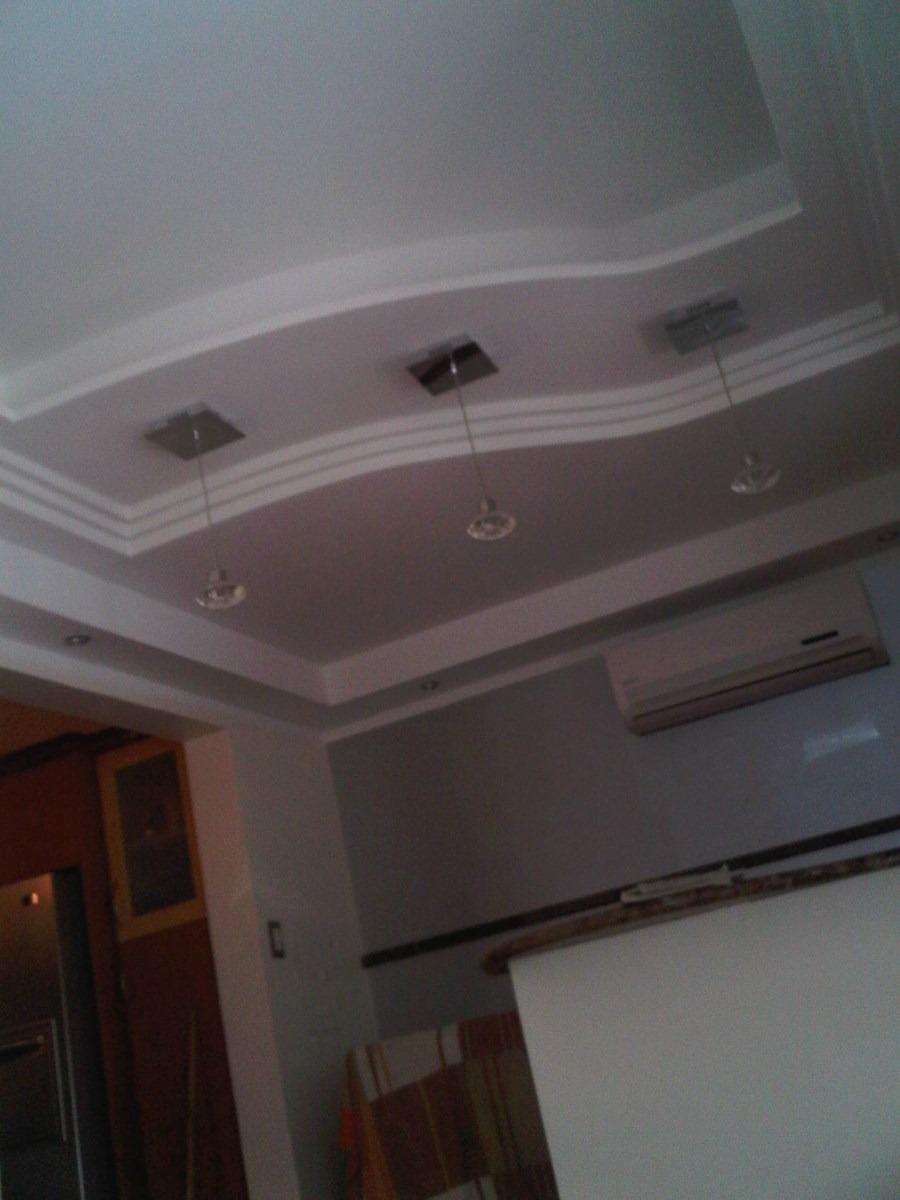 Decoraciones en dise os drywall molduras de yeso en for Modelos de techos en drywall