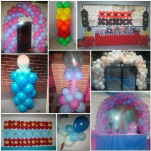 decoraciones en globos y telas,  aleymar