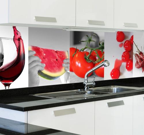 decoraciones en vidrio y salpicaderos para cocina
