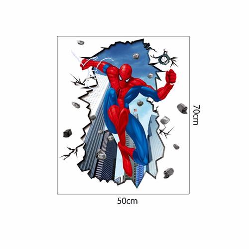 decoraciones fiestas infantiles spiderman 70x50cm