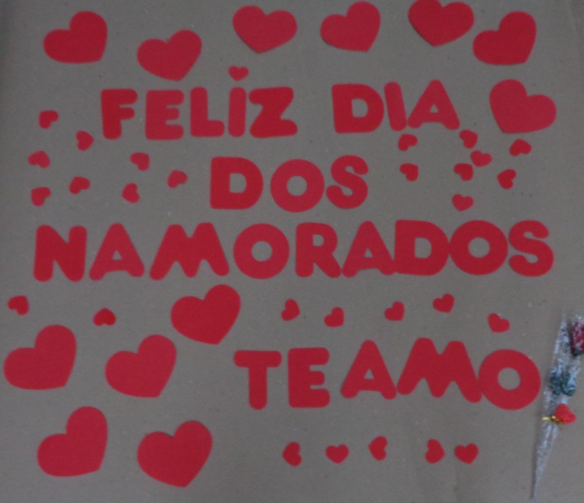 Decoração Corações E Frases Dia Dos Namorados Frete Grátis R 23