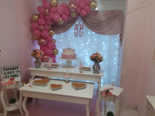 decoração de festa completa