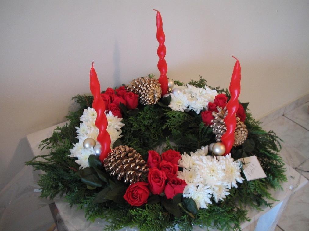 Decoraç u00e3o De Mesa Arranjos De Mesa Natal Maravilhosos R$ 95,00 em Mercado Livre -> Decoração De Natal Para Mesa Quadrada