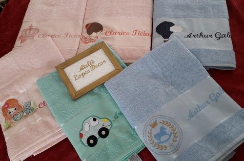 decoração de toalhas