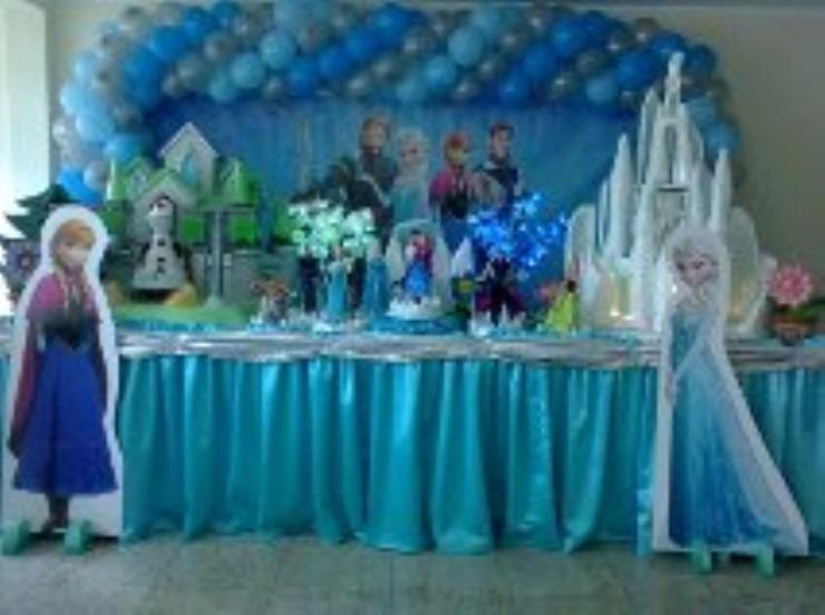 Decoração Festa Infantil Frozen I Locação R 49998 Em Mercado Livre