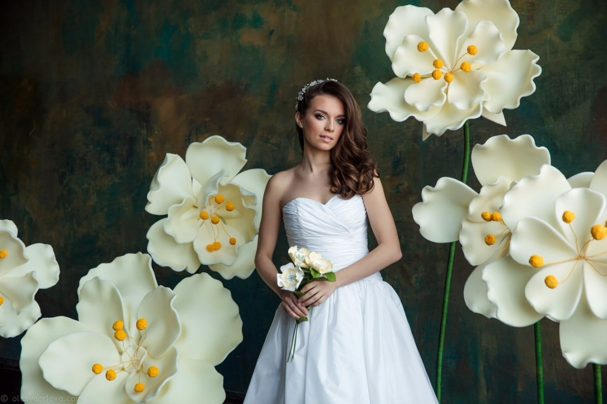 Decoraç u00e3o Flores Gigantes Casamento Festa Eva Eventos Fotos R$ 497,00 em Mercado Livre -> Decoração De Aniversário Com Flores Gigantes