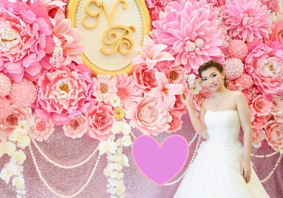 Decoraç u00e3o Flores Gigantes Casamento Festa Eva Eventos Painel R$ 970,00 em Mercado Livre -> Decoração De Aniversário Com Flores Gigantes