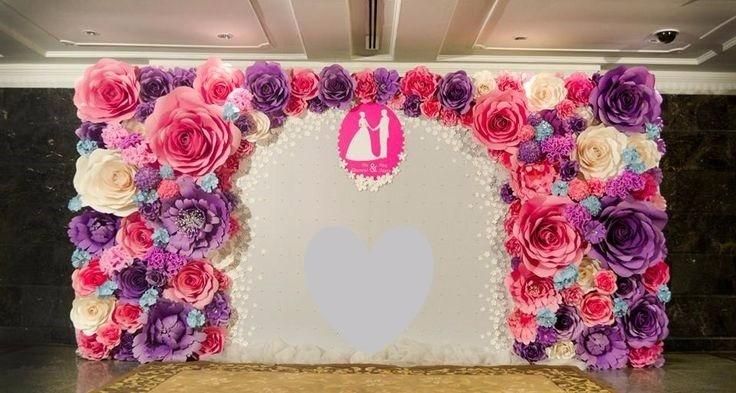 Decoraç u00e3o Flores Gigantes Casamento Festa Eva Eventos Painel R$ 1 490,00 em Mercado Livre -> Decoração De Aniversário Com Flores Gigantes