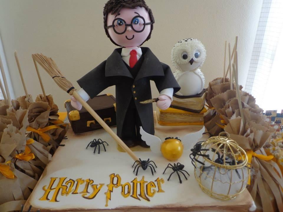 Artesanato Com Papel Origami Passo A Passo ~ Decoraç u00e3o Para Festa Infantil Harry Potter Bolo Falso R$ 260,00 em Mercado Livre