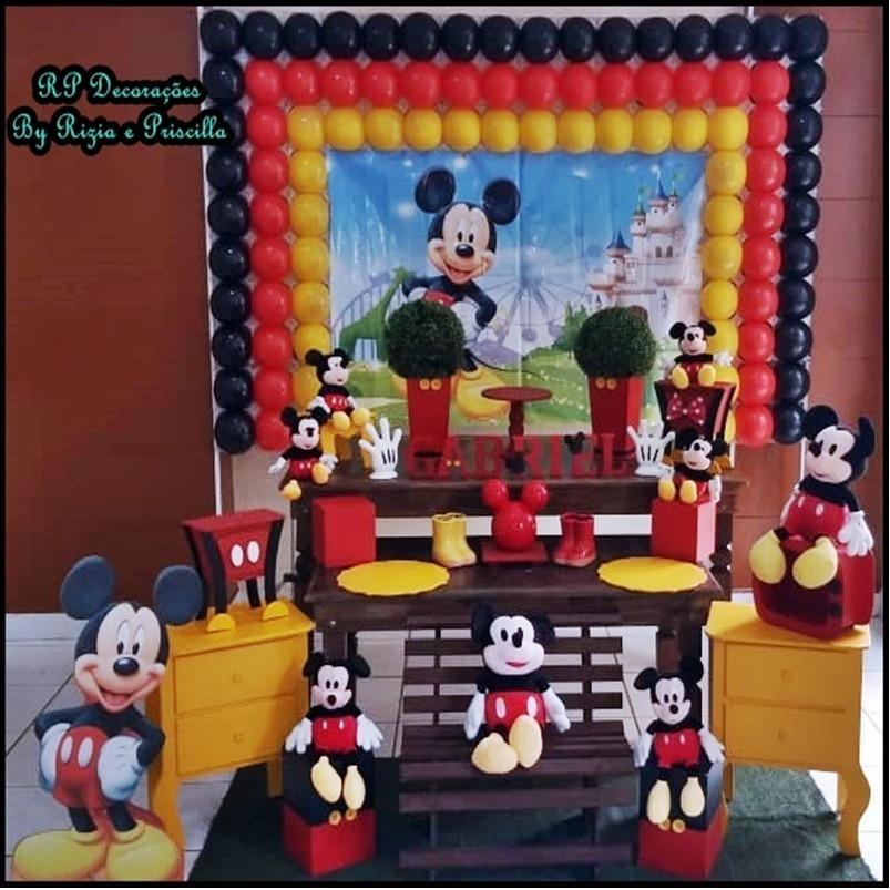 020452c69 Decoração Provençal Mickey Rustico Luxo Locação - R$ 350,00 em ...