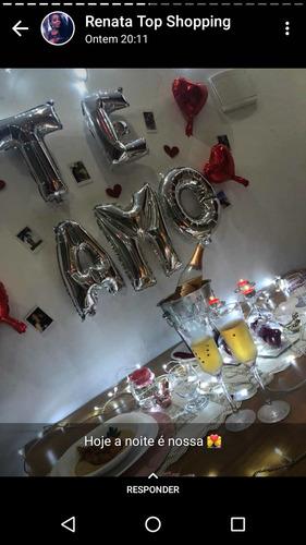 decoração romântica e aniversários