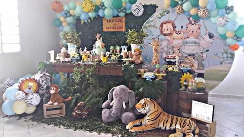decoração safári baby