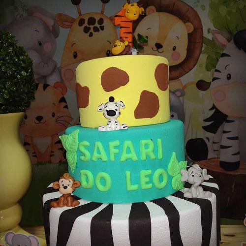 decoração safari baby