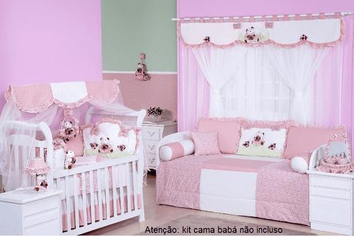 decoração ursa florista sem cama babá