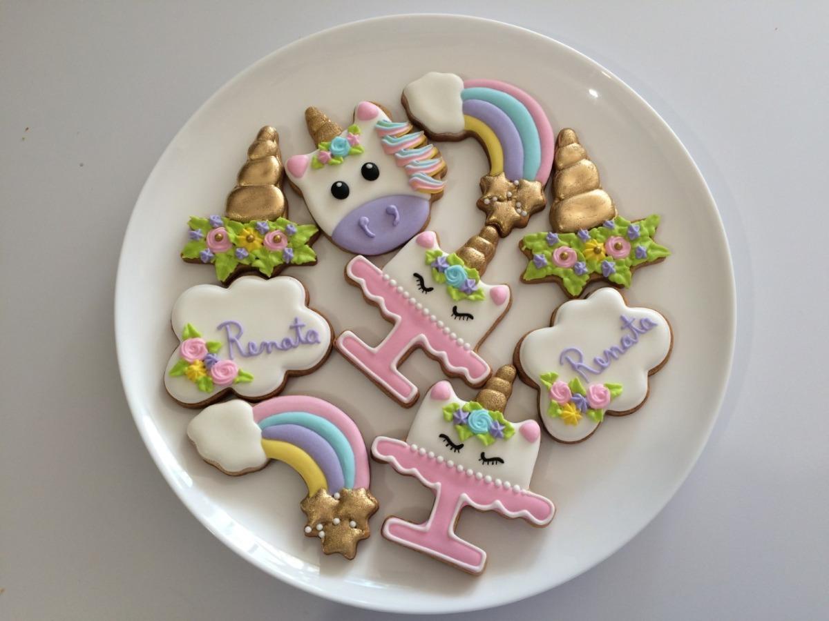 Galletas Decoradas Unicornio Fiestas Infantiles Baby Shower