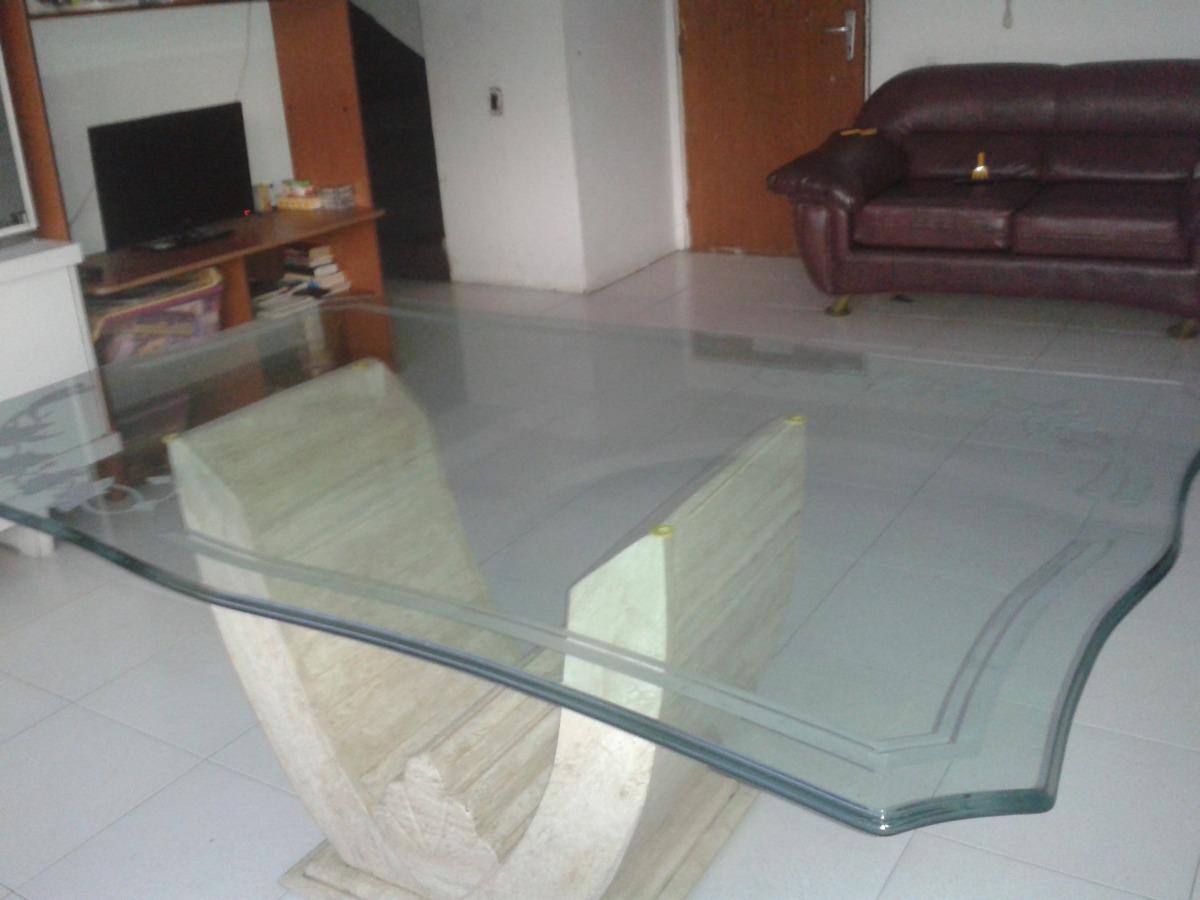 Decorativa mesa comedor de marmol y vidrio biselado flores - Mesas de marmol y cristal ...