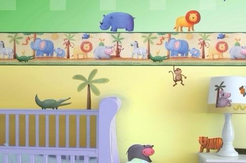 decorativas cenefas para la habitación de los pequeños