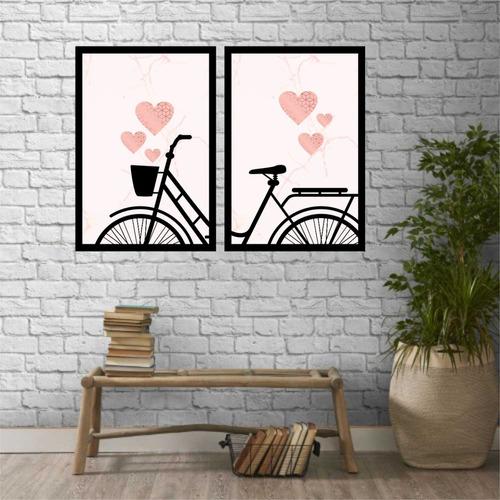 decorativo coração quadro