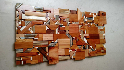 decorativo cuadro madera para colgar