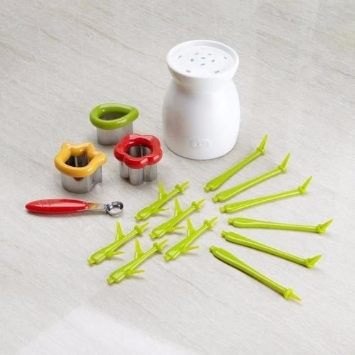 decorativo florero & cutter set - joie